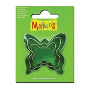 Cake Decorating Butterfly Cutters Pk 3