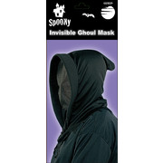Invisible Ghoul Mask with Hood Pk 1