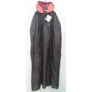 Adult Vampire Black Cape with Red Collar Pk 1