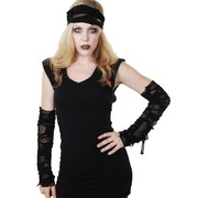Adult Goth Set (Armbands & Head Bandage Only) Pk 1