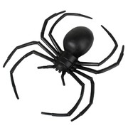Plastic Black Widow Spider (14cm) Pk 1