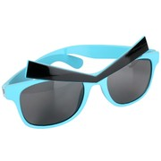 Blue Angry Eyes Sunglasses Pk 1