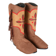 Cowgirl Boot Covers Costume Pk 2