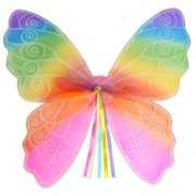 Rainbow Butterfly Wings (Child) Pk 1