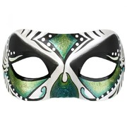 Juanita Green Masquerade Eye Mask Pk 1