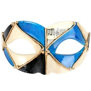 Blue & Black Mask - Pietro Pk 1