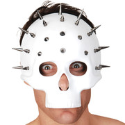 Adult White Skull Mask - Spectre  Pk 1