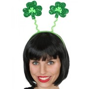 Green Shamrock Headband Pk 1