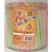 Assorted Mini Fruit Straws (2g) Pk Approx. 600