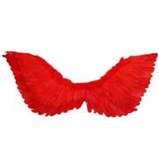 Red Feather Wings (90cm x 50cm) Pk 1