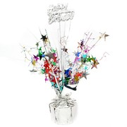 Centrepiece Weight and Pick Happy Birthday Multi Pk1