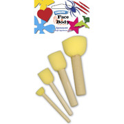 Face Paint Spouncer Set Pk 4