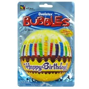 Balloon Bubble Birthday Cake Pk1