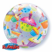 Bubble Balloon Cupcakes 22in Pk1