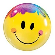 Bright Smile Bubble Balloon 22in Pk 1
