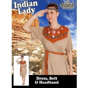 Adult Indian Lady Costume (X Large, 20-22)