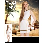 Adult Toga Lady Costume (Medium, 12-14) Pk 1