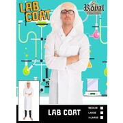 Adult Lab Coat Costume (Large) Pk 1 (LAB COAT ONLY)