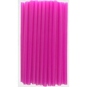 Cake Decorating Plastic Straws / Craft Supports (12mm x 30cm) Pk 30