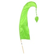 Bali Flag With Tail 50cm Lime Green Pk1