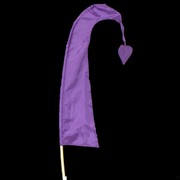 Bali Flag With Tail 50cm Purple Pk1