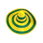 Aussie Green & Gold Sombrero Hat Pk 1