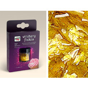 Edible Cake Sprinkles - Gold Witchery Flakes (1.5g) Pk 1
