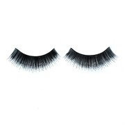 Natural Long Black Eyelashes With Glue (1 Pair)