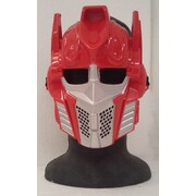 Carbot Red Plastic Mask Pk 1