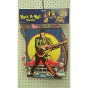 Rock & Roll Cutouts (Assorted Sizes) Pk 4