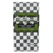 Black & White Check Tablecover (137x274cm) Pk 1