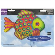 Balloon Foil Supershape Prismatic Fish Pk1