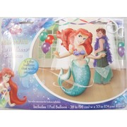Little Mermaid Airwalker Balloon 134cm Pk 1