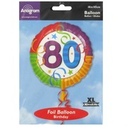Balloon Foil 18in 80 Perfection Pk1