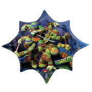 Teenage Mutant Ninja Turtles Supershape Foil Balloon (88cm x 73cm) Pk 1