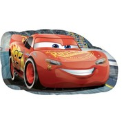 Disney Cars Lightning McQueen Supershape Foil Balloon (76cm x 43cm) Pk 1