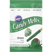 Dark Green Cake Decorating Candy Melts 340g Pk 1
