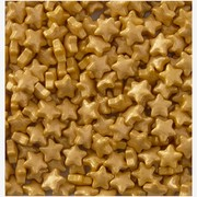 Gold Stars Cake Decorating Sprinkles (56g) Pk 1