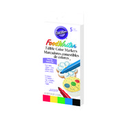 Primary Colour Cake Decorating Edible Candy Markers Pk 5