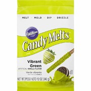 Vibrant Green Candy Melts 340g Pk 1