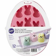 Mini Easter Bunny 3D Silicone Cake/Treat Mould (12 Cavities) Pk 1