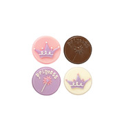 Princess Cookie Candy Mould with Recipe Card (8 Cavities) Pk 1