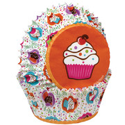 Cupcake Party Baking Cups (5cm) Pk 75