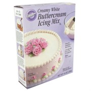 Creamy White Buttercream Icing Mix 396g Pk 1