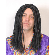 Long Black Dreadlocks Wig Pk 1