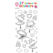 Colour In Fairy Stickers (37 Stickers)