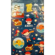 Pirate Stickers Assorted (1 Sheet) Pk 1