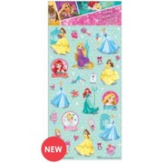 Disney Princess Assorted Stickers (50 Stickers)