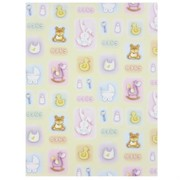 Gift Wrap Cute Baby Icons 700mm x 495mm Pk1