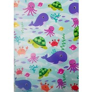 Under the Sea Gift Wrap (700mm x 495mm) Pk 1
